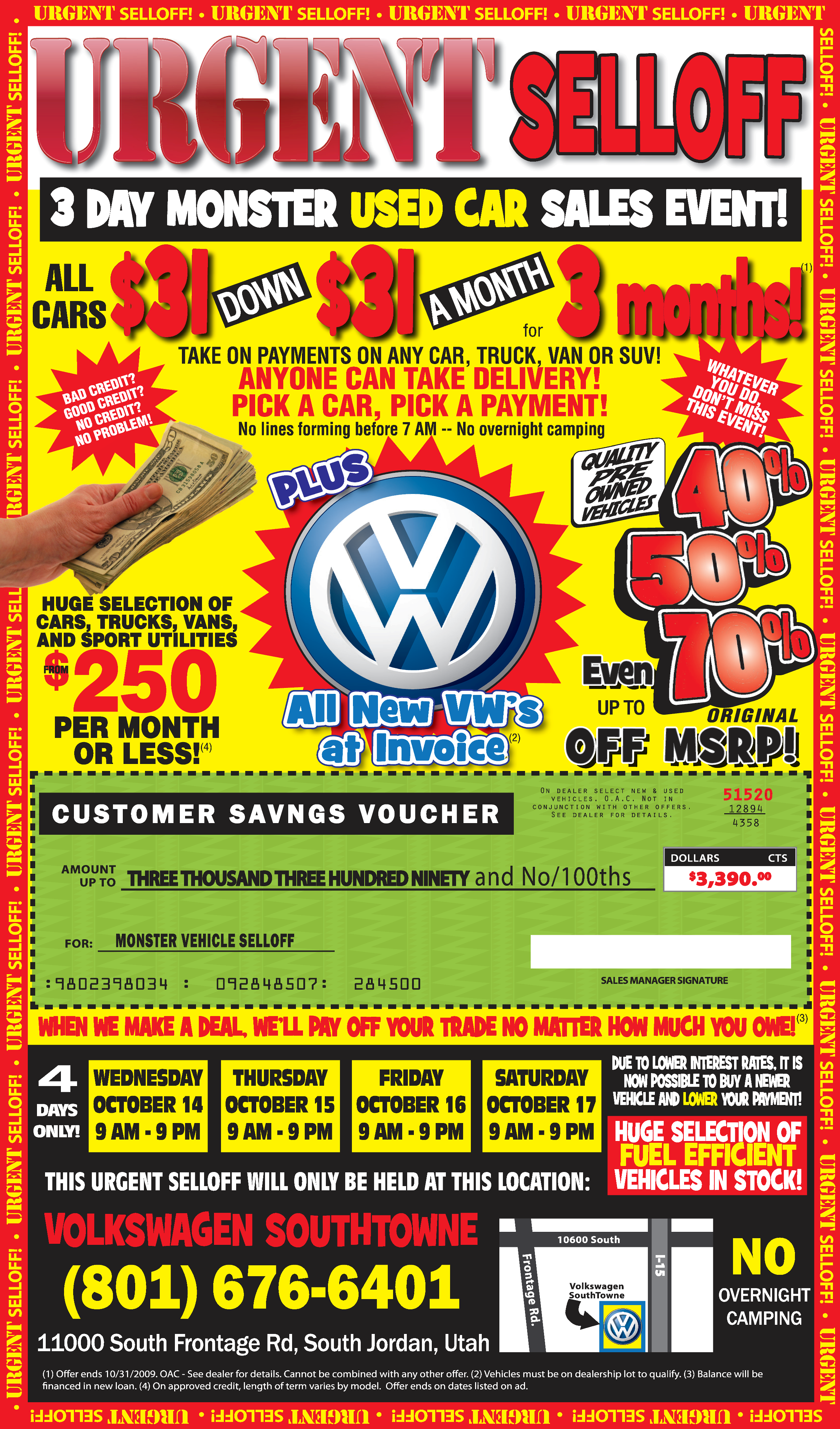 Cheap Used Cars | Volkswagen SouthTowne